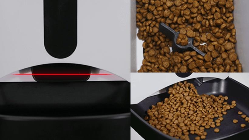 カリカリマシーンSPの赤外線センサーと自己保護機能
