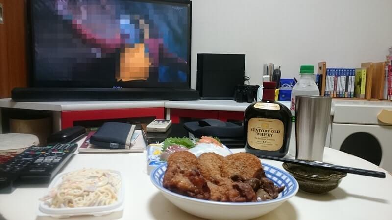 お酒とつまみと映画(洋画)